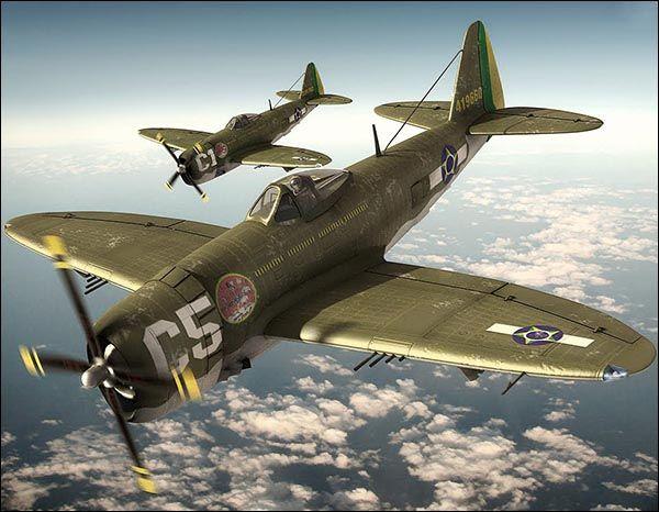 P-47 Thunderbolt                                                                                                                                                     Mais