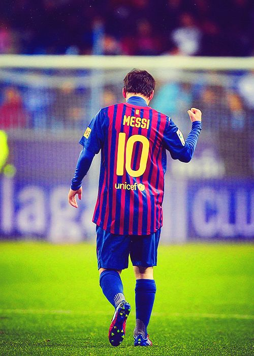 """Prince of Futbol Lionel Andrés """"Leo"""" Messi. Argentina and FC Barcelona player. A huge hero in my life."""