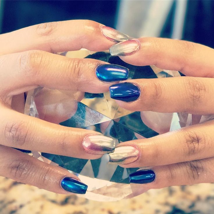 Ombre chrome nails #naildesigns #nailsalon #bestsaloncanyon #bnailsdasalon #nailart #bestsalonamarillo Nail art requires mastery over the art it becomes really beautiful if done by skilled hands. Nail art or nail painting is done with the help of needles stencils and nail brushes. a nail artist covers nails with pictures and ornaments also he decorates the nails with polishes and paints available widely in makets.another art of nail designing is done by the application of beads flowers…