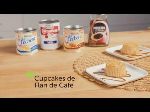 Cupcakes de Flan de Café | Recetas de Nestlé | ElMejorNido.com