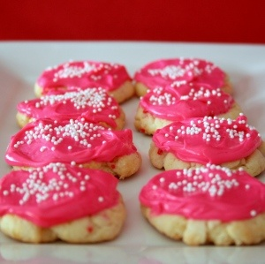 Funfetti cookie recipe.  Because sometimes the Funfetti Cookie boxes are gone at the grocery store!!