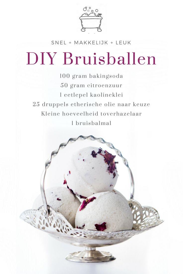 DIY Bruisballen maken is eigenlijk heel makkelijk met een paar simpele ingrediënten, zoals bakingsoda, citroenzuur en etherische olie. Hartstikke leuk om zelf te maken en origineel om cadeau te doen.