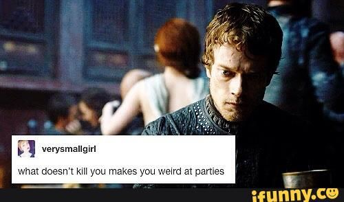 Game of Thrones Theon Greyjoy Tumblr post