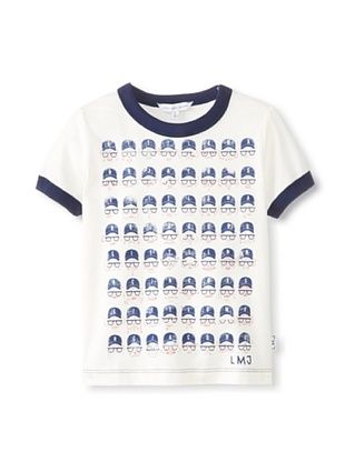 29% OFF Marc Jacobs Kid's Mc Cotton T-Shirt (Off white)