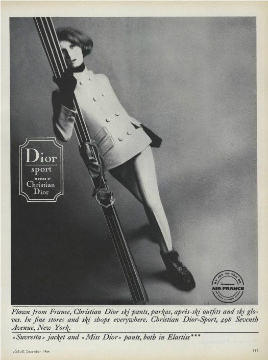 Dior sport - Vogue144.10 (Dec 1, 1964): 113