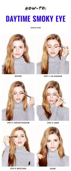 4 steps to the perfect daytime smoky eye