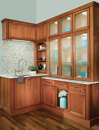Wellborn Cabinets for your wet bar!