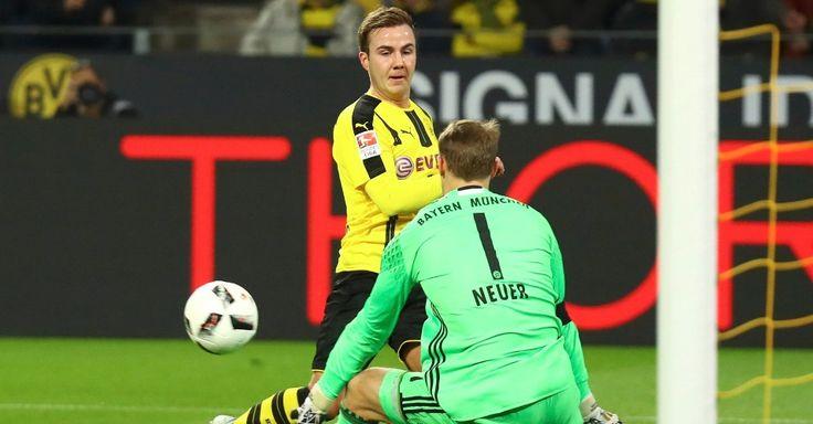 Com Götze e Hummels em campo, Borussia bate o Bayern em jogo de reencontros