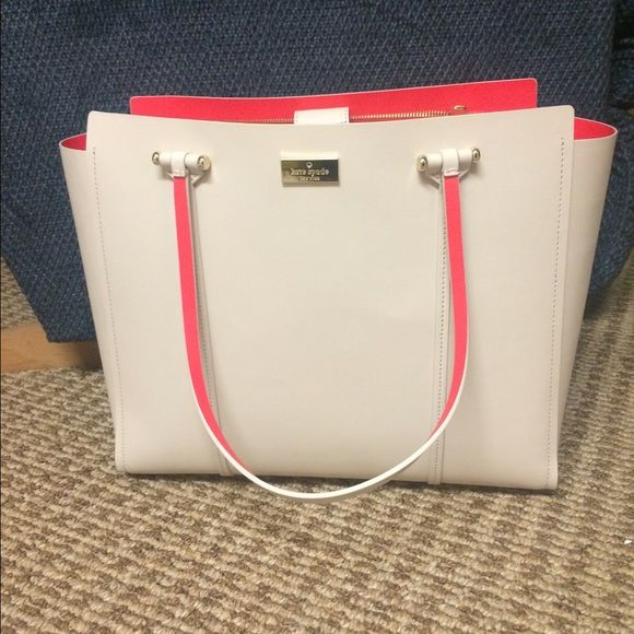Kate Spade arbour hill large purse Kate spade arbour hill purse. In geranium and pebble. Brand new still has the tags! kate spade Bags Shoulder Bags