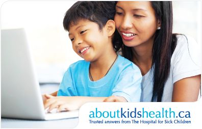 Check out our aboutkidshealth resource centres! Our resource centers can be used to navigate entire subjects and/or diseases/illness. Need any info about your child's health?? Parenting advice? We have all of the information about kids health that you could possibly want and it is all provided by experts or other credible sources!