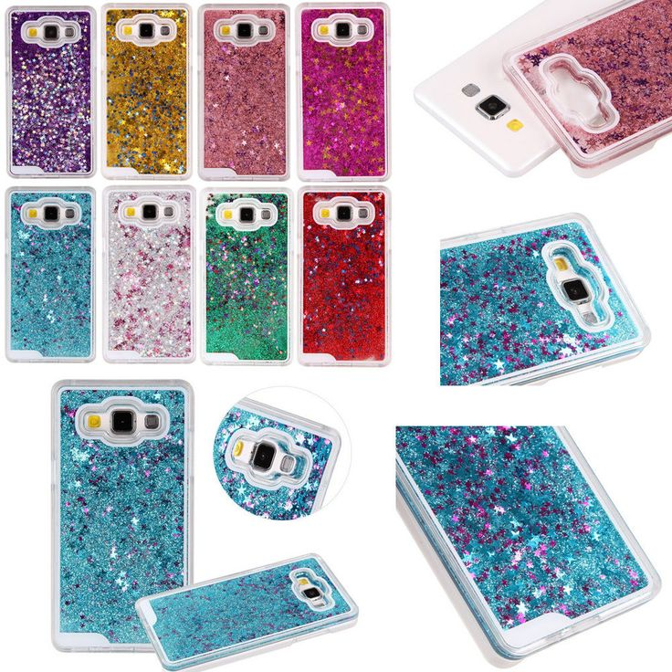 Dynamic Liquid Paillette Glitter Bling Hard Clear Case Cover For Samsung Galaxy #UnbrandedGeneric