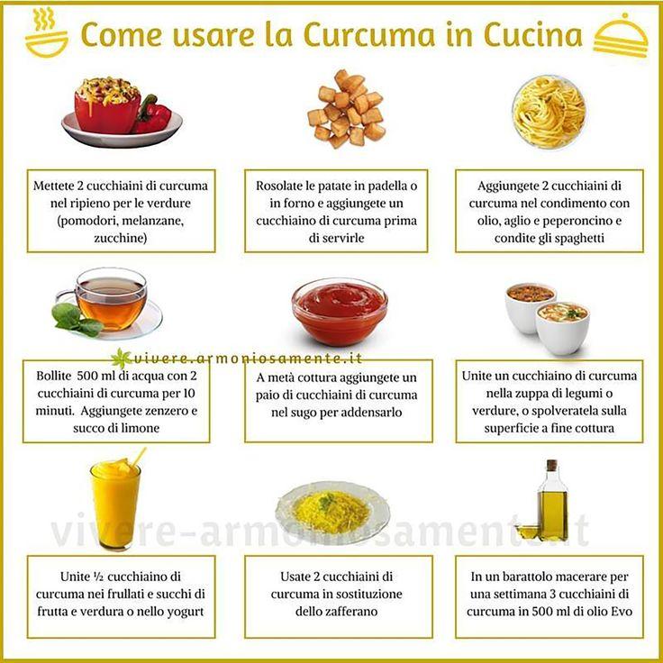 Come usare la #curcuma in cucina