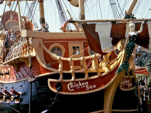 Throwback Thursday: Chicken of the Sea Pirate Ship and Restaurant #disney #disneyland #cats #tbt #blog #post #kitty #kitties #humor #funny #parks