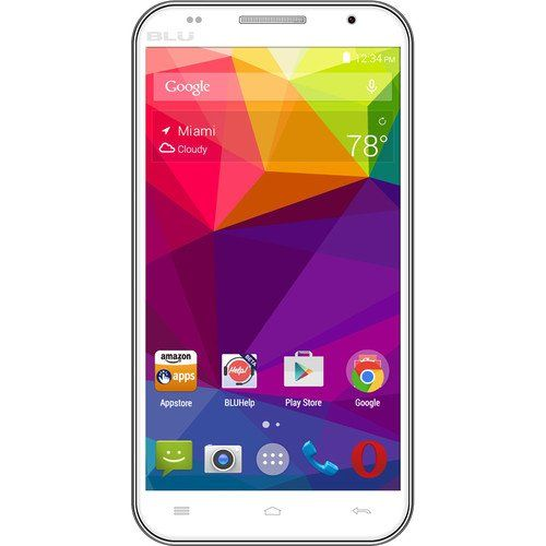 BLU Neo 5.5 N030L Global GSM Unlocked Quad-Core Android 4.4 (KitKat) Smartphone - White