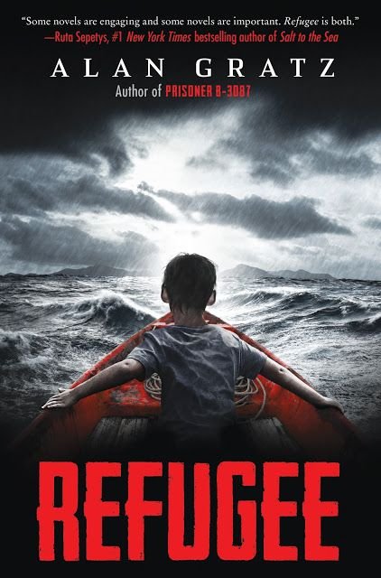 Watch. Connect. Read.: Cover Reveal for Refugee by Alan Gratz