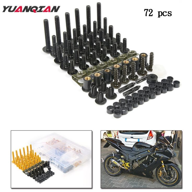 28.19$  Buy now - http://ali6gv.shopchina.info/1/go.php?t=32787267609 - Motorcycle Accessories Custom Windscreen fairing Screw Bolt FOR YAMAHA YZF R1 R6 R3 MT07 2005 2006 2007 2008 2009 2010 2011 2012  #buymethat