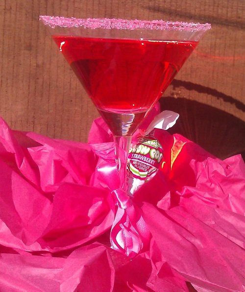 Blow pop martini Drinks — Robin's Sweet Confessions
