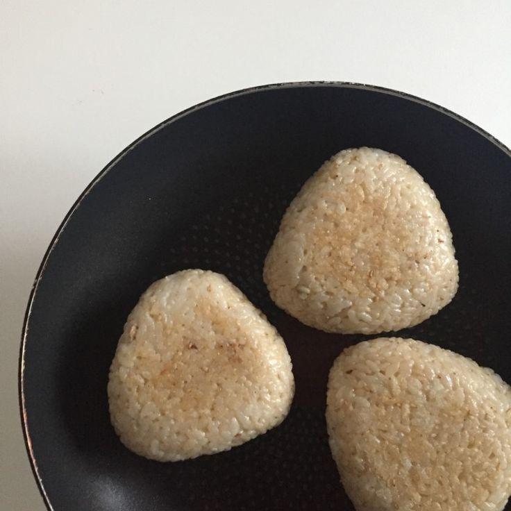 구워서 맛있는 참치마요 오니기리(주먹밥) : 네이버 블로그