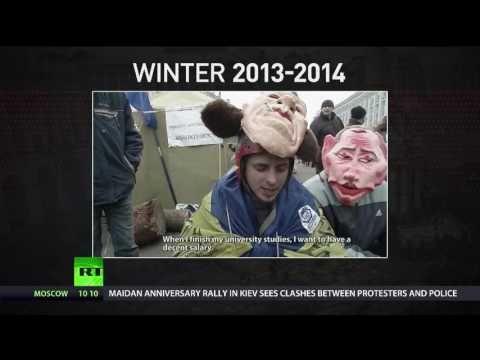 """Aktuelle Video Nachrichten - UKRAINE: Drei Jahre danach: Was ist aus der ukrainischen """"Revolution"""" geworden?"""