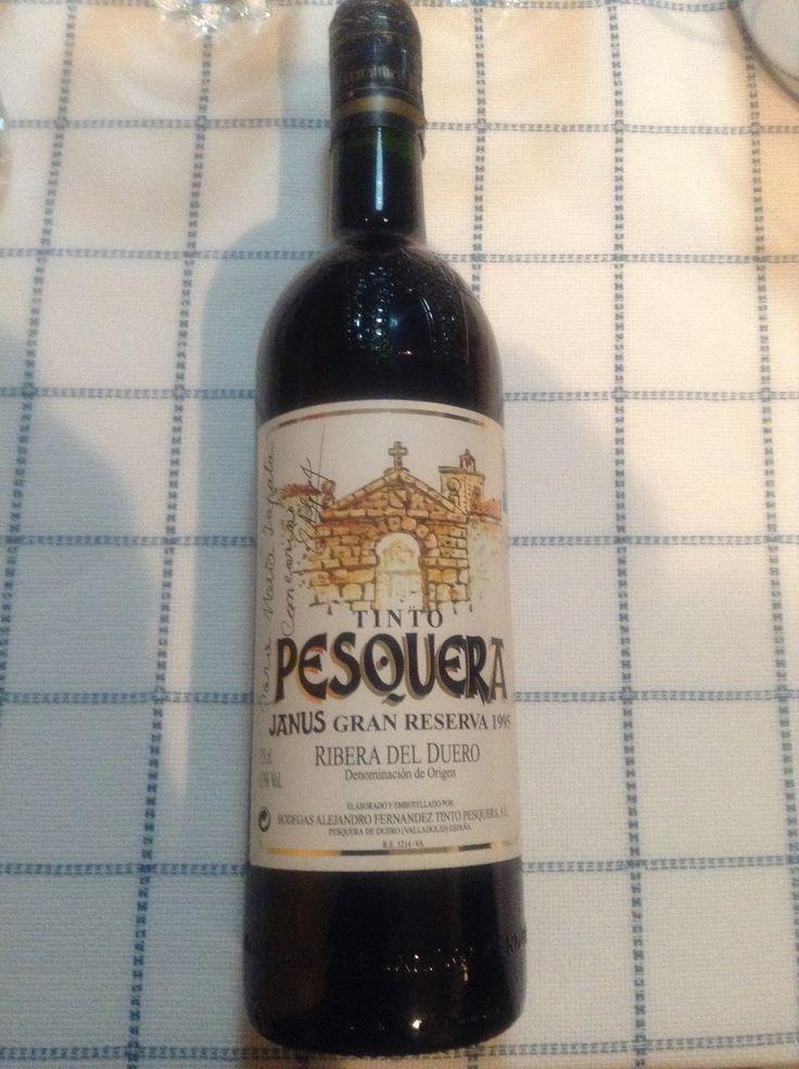 Un gran vino para una gran ocasión!  Pesquera 95