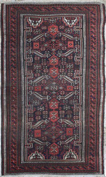 R1713 Beautiful Baluch Rug