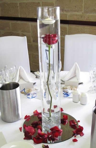 Best rosebud centrepiece images on pinterest