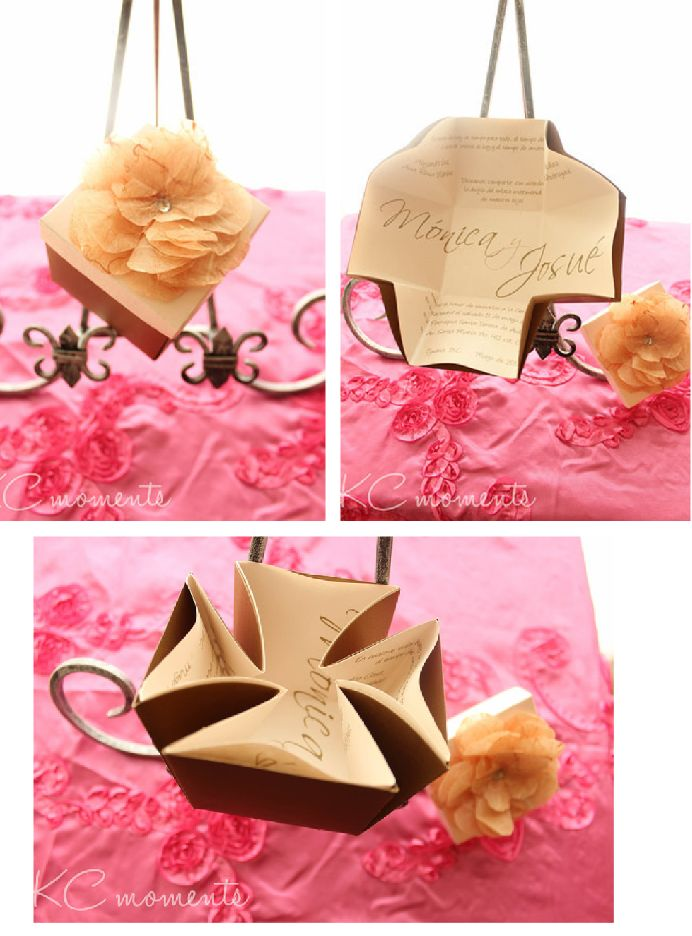 box invitation unique invitation by Karen via baby shower ideas and shops