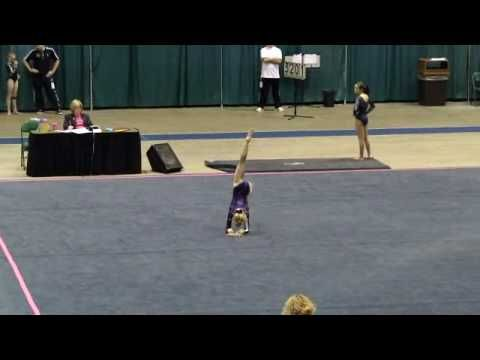 Mia Fowler 2010 Level 8 Gymnastics Floor Routine