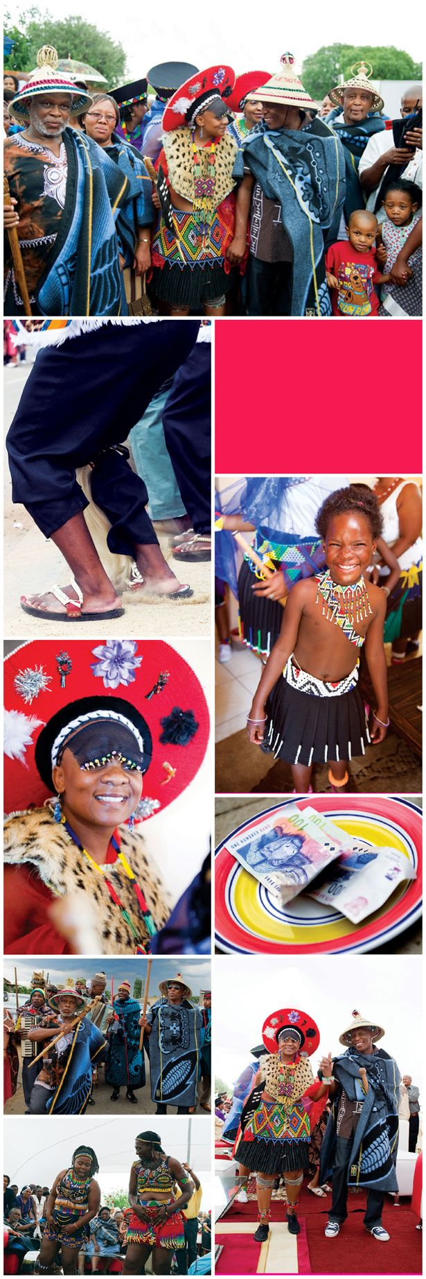 a traditional wedding in south africa a mixture of two cultures, zulu meets sotho