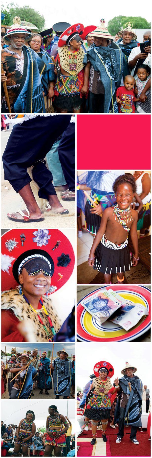 Zulu traditional dress in zulu kraal kwazulu natal - A Traditional Wedding In South Africa A Mixture Of Two Cultures Zulu Meets