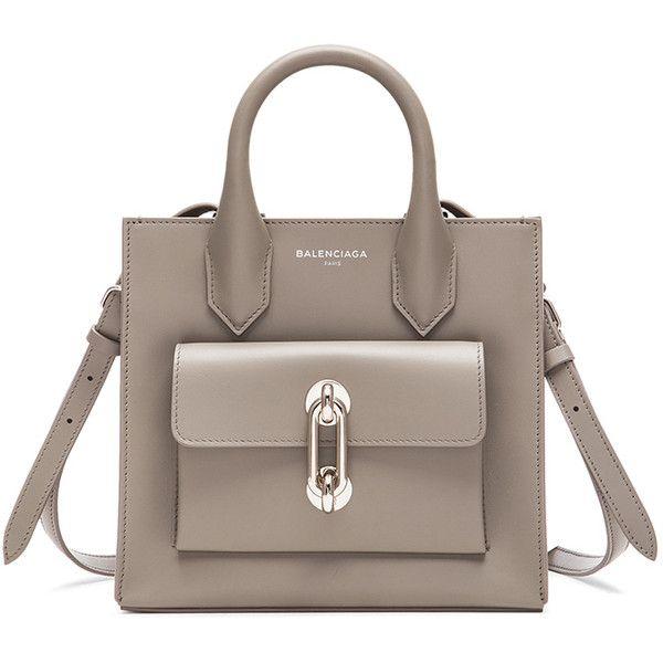 Balenciaga Maillon Mini All ($1,635) ❤ liked on Polyvore featuring bags, handbags, balenciaga, purses, сумки, brown bag, mini purse, balenciaga handbags, brown purse and miniature purse