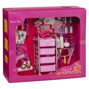 Our Generation Home Accessory Hair Salon Set Target Mobile American Girl Doll Things For