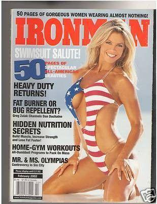 IronMan Bodybuilding muscle SWIMSUIT SALUTE Jennifer Micheli /Tina Jo Orban/Frostee Moore/Kelly Jacobs/Jennifer Goodwin/Ashley Lawrence+++ 2-02