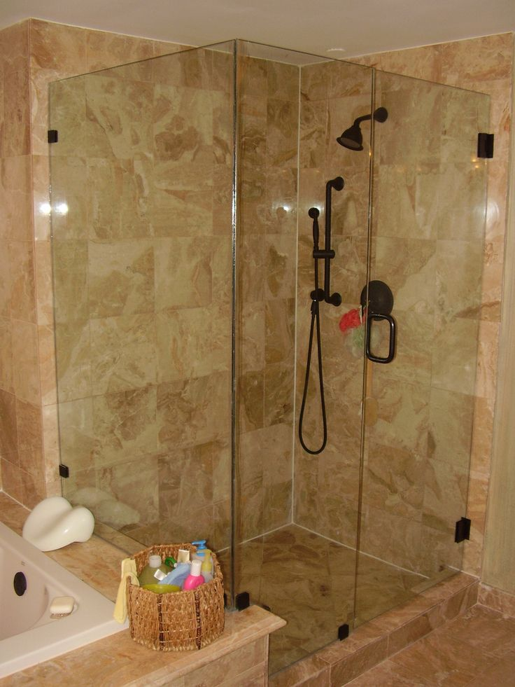 1000 ideas about bathroom shower enclosures on pinterest - Stall showers small spaces photos ...