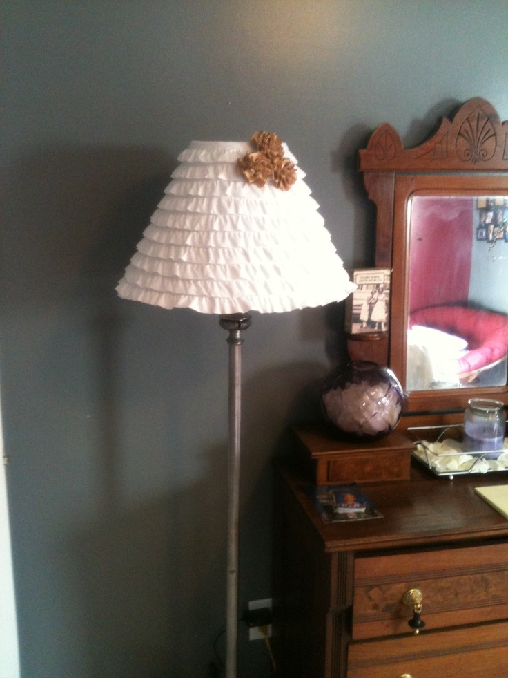 homemade lamp shade