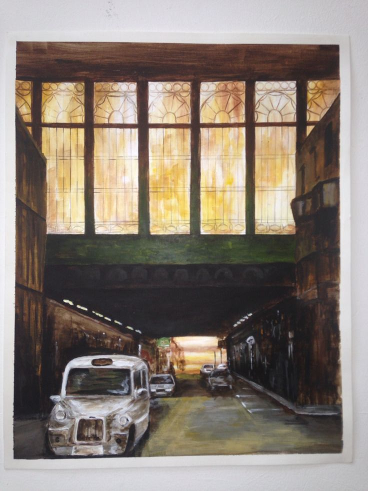 Glasgow Central station By Samantha Ure