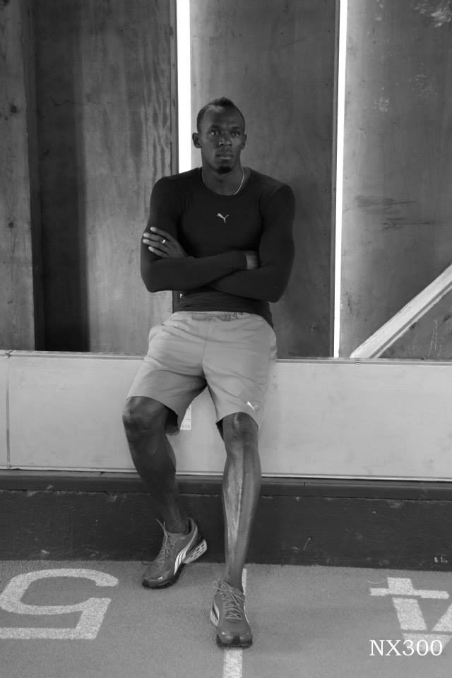 Usain Bolt -  the fastest person ever
