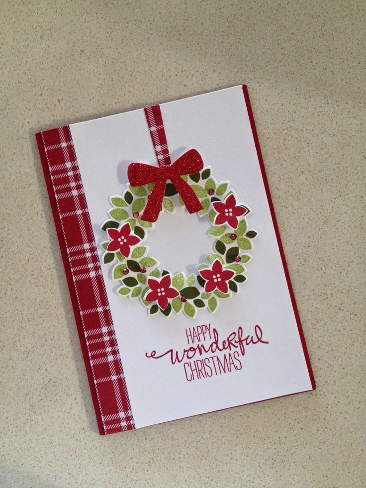 KeepStamping: Wondrous Wreath