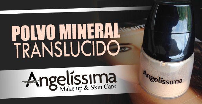 Polvo Mineral Translucido Angelíssima - http://www.redgrupoangeles.com/polvo-mineral-translucido-angelissima/