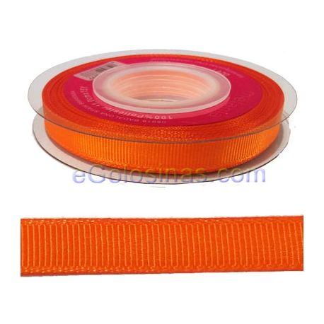 CINTA TELA LAZO NARANJA1cm 14MTSson cintas de polyester de 1cm de ancho y 14 metros de largo.