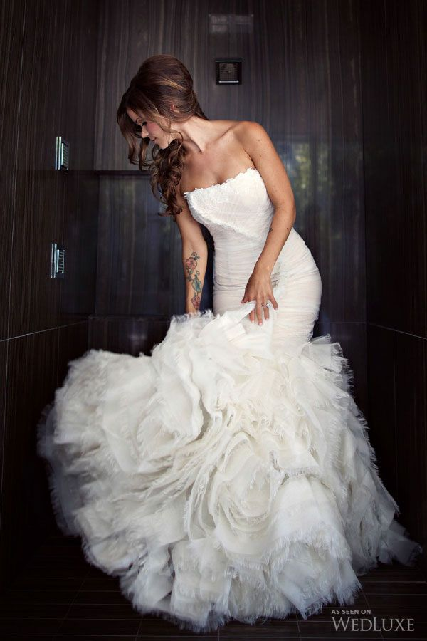 WedLuxe– Vanessa & Scott   Photography by: Jonetsu Studios Follow @WedLuxe for more wedding inspiration!