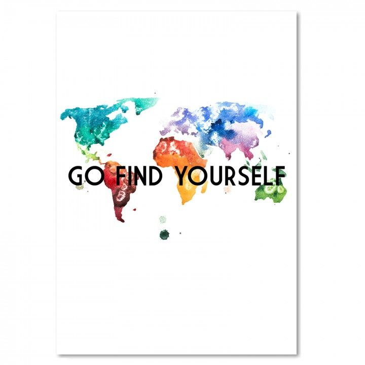 Go find yourself, Deco Panel