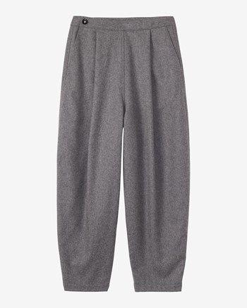 Women's Slouchy Flannel Trouser