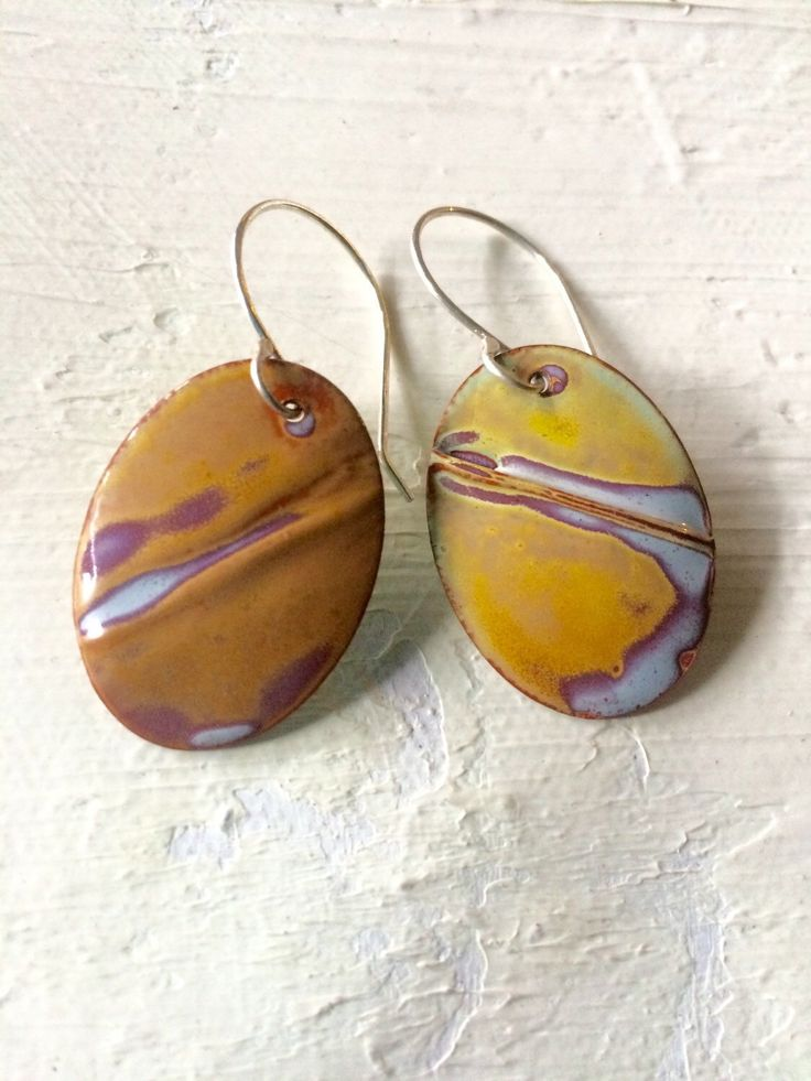 A personal favorite from my Etsy shop https://www.etsy.com/listing/253893285/abstract-beige-enamel-earrings