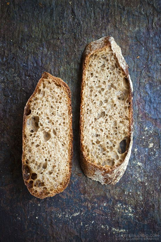 Ekşi Mayalı Ekmek - Dilim