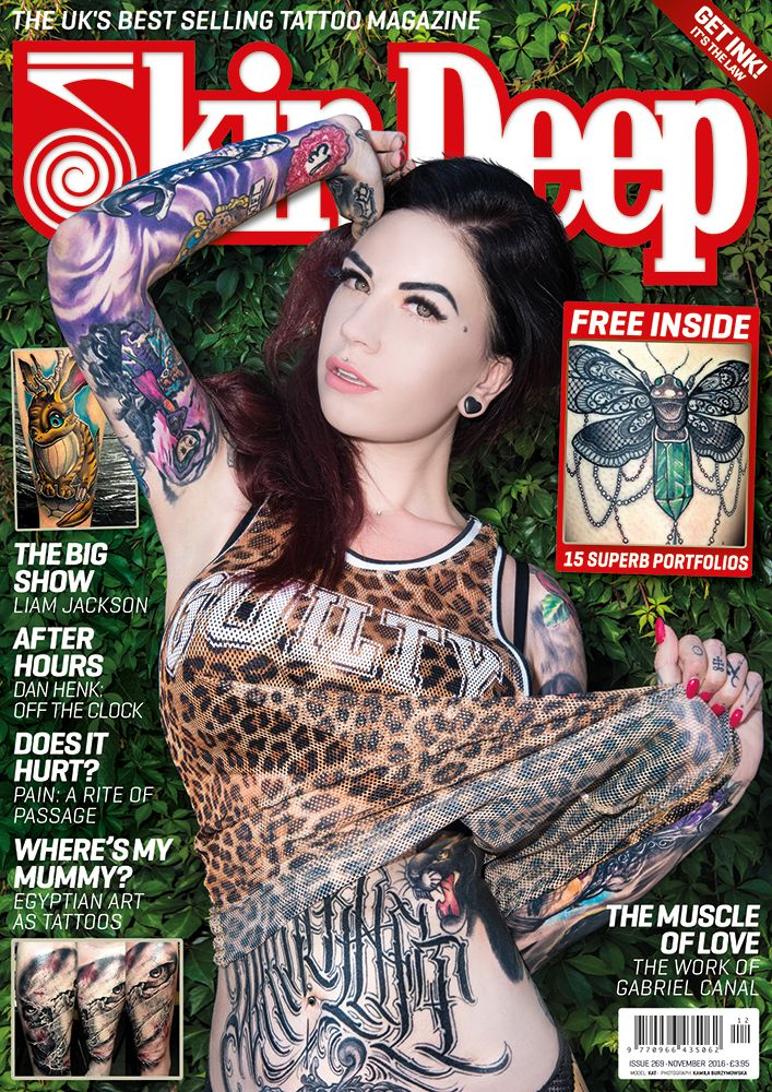 29 best covers images on pinterest portrait tattoos for Best tattoo magazine