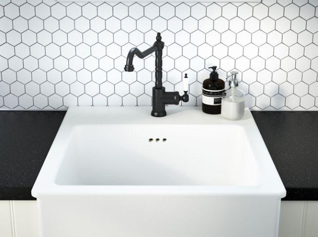 Les 25 meilleures id es de la cat gorie robinet noir sur for Robinetterie salle de bain ikea