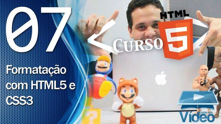 Curso de HTML5 - 07 - Formatação de Texto com HTML5 e CSS3 - by Gustavo ...