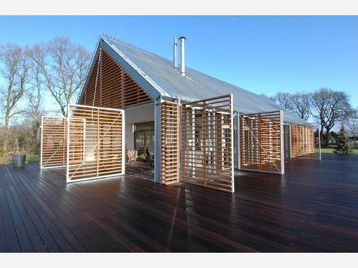 Woonschuur. Deze woning is ontworpen door de architecten van Aequo.