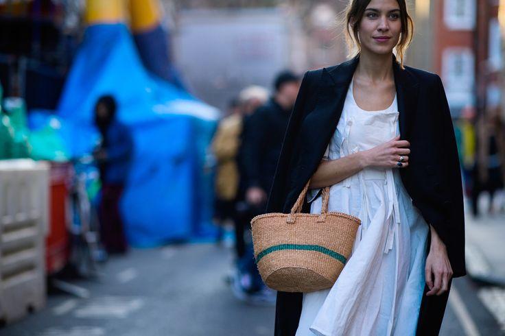Streetstyle на Неделе моды в Лондоне. Часть 1